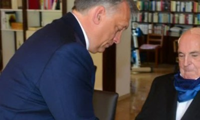 Den Altbundeskanzler und den ungarischen Ministerpräsidenten eint die Kritik an Angela Merkels Kurs in der Flüchtlingskrise, doch mit Tagespolitik habe der Besuch nichts zu tun, so Orban.