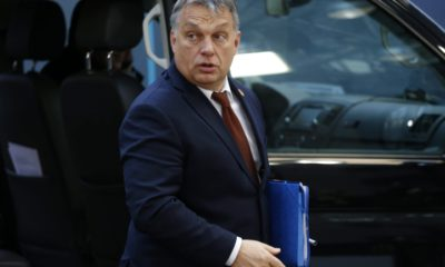 epa05676595 Hungarian Prime Minister Viktor Orban arrives for the European summit in Brussels, Belgium, 15 December 2016. EU leaders meet for a one-day summit which will mainly focus on the implementation of the EU-Turkey agreement on migration and the EU Internal Security Strategy. 27 leaders are scheduled to later meet informally for a dinner to discuss the Brexit process.  EPA/JULIEN WARNAND