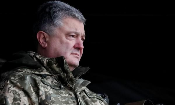 порошенко униформа
