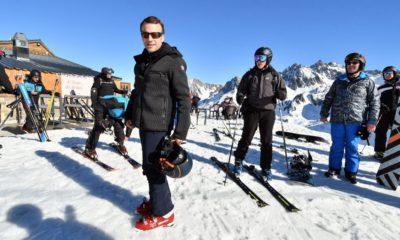 макрон ски