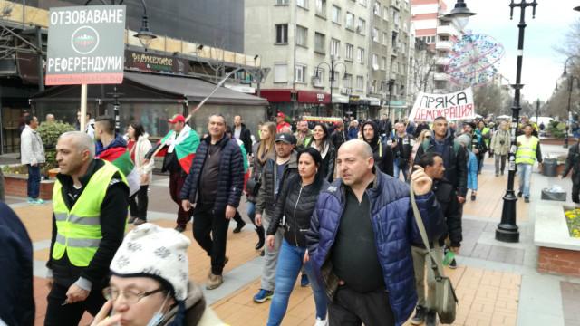 протест софия оставка