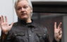 epa07389231 epa07130985 (FILE) - Wikileaks founder Julian Assange speaks to reporters on the balcony of the Ecuadorian Embassy in London, Britain, 19 May 2017, (reissued 22 February 2019).  According to news reports on 22 February 2019 Julian Assange has been issued with a new Australian passport clearing the way for him to finally leave the Ecuadorian Embassy in London.  EPA/FACUNDO ARRIZABALAGA *** Local Caption *** 54739197