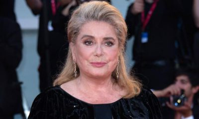 Catherine Deneuve attending the Joker Premiere as part of the 76th Venice Internatinal Film Festival (Mostra) on August 31, 2019. Photo by Aurore Marechal/ABACAPRESS.COM  Mostra Festival de Venise Venice Film Festival Mostra Mostra de Venise Festival du Film de Venise Venice Film Festival  | 697575_063 Venise Venice Italie Italy