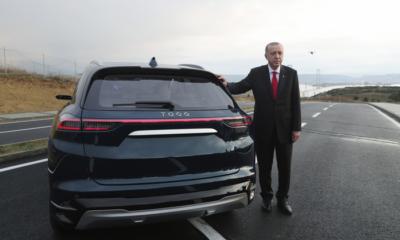 Eрдоган електромобил ап бта